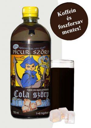 Picur cola szörp
